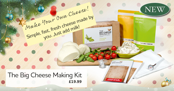 Make Your Own Cheese - click for details