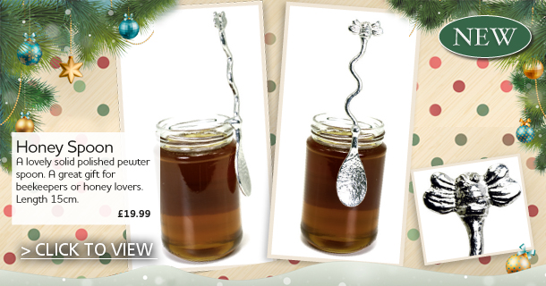 Stylish honey Spoon - click for details