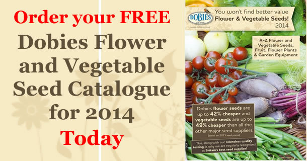 dobies seed and vegetable catalogue 2014