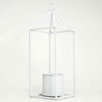 Greenhouse - White 6cm Pot