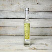 Lemon Plant with a bottle of Lemon Liqueur