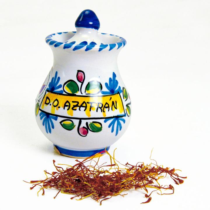 Saffron Stamens Pot