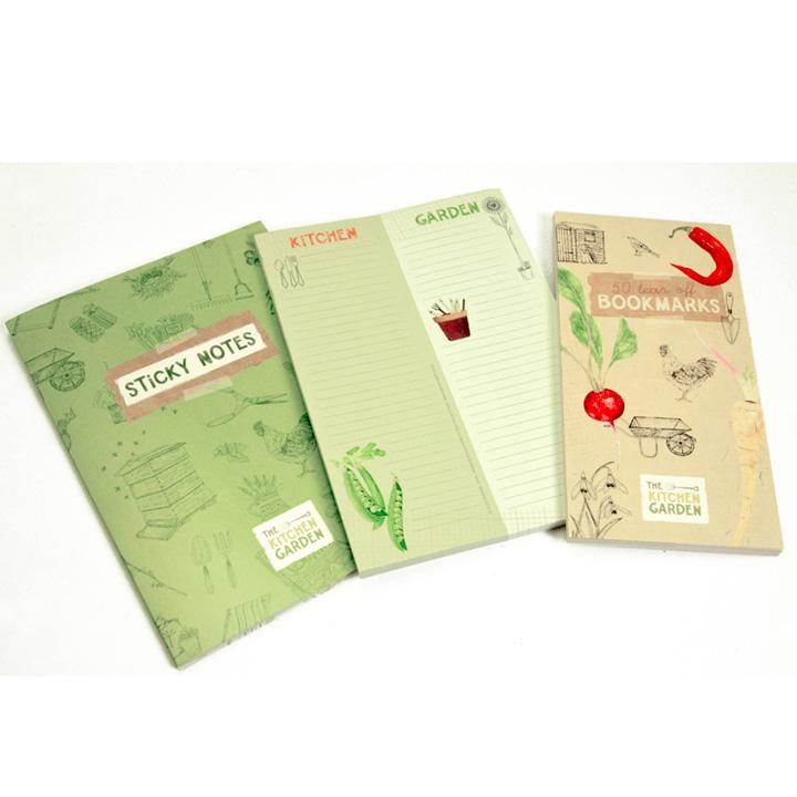 Kitchen Garden Stationery Assortment & Garden Planner