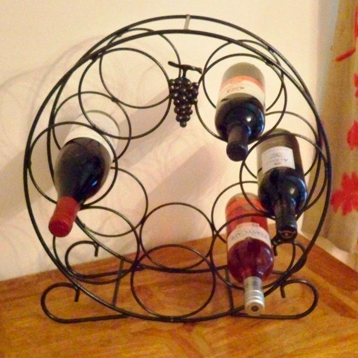 Heritage Wine Rack - 7 Bottles