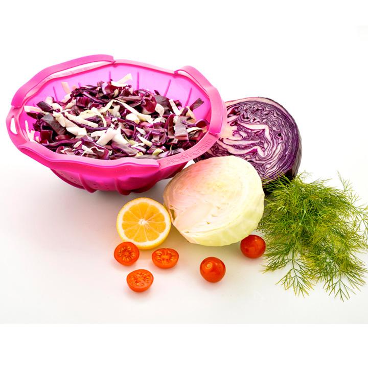 Purple Cabbage Colander & Steamer