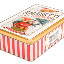 Italian Treats - Amaretti Tin