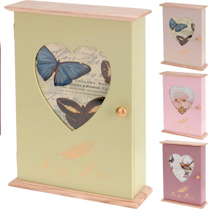 Wooden Key Box