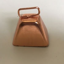 Copper-plated Steel Bell - Medium