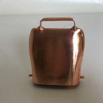 Copper-plated Steel Bell - Large