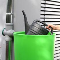 Rain Bowl Water Tank - Kiwi 210 Litre