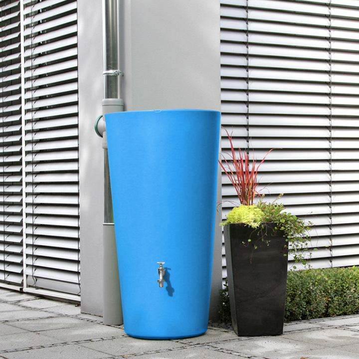 Rain Bowl Water Tank - Aqua 210 Litre