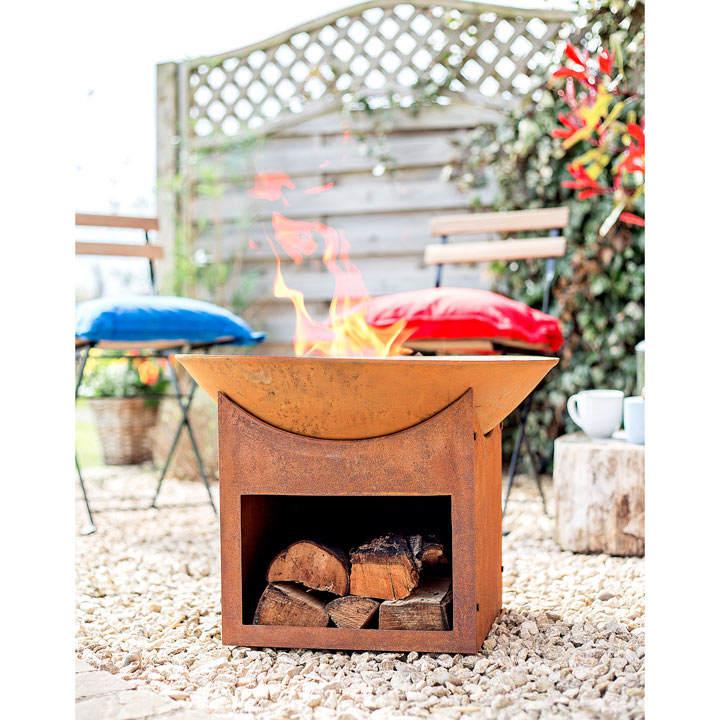 Fasa Fire Bowl with Storage