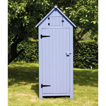 Garden Tool Shed - Blue