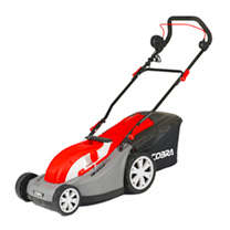 Cobra 13 Electric Lawnmower with Rear Roller