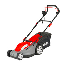 Cobra 15 Electric Lawnmower with Rear Roller