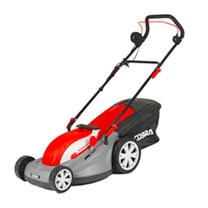 Cobra 16 Electric Lawnmower with Rear Roller