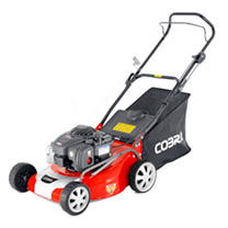 "Cobra 18"" Petrol Powered Lawnmower B&S"