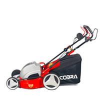 """Cobra 18"""" Electric Powered Lawnmower + Mulching"""