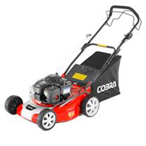 """Cobra 18"""" Petrol Premium Powered Lawnmower 4-in-1"""