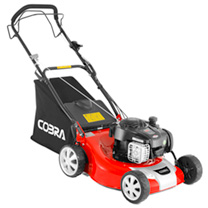 "Cobra 18"" Petrol Premium Powered Lawnmower 4-in-1"