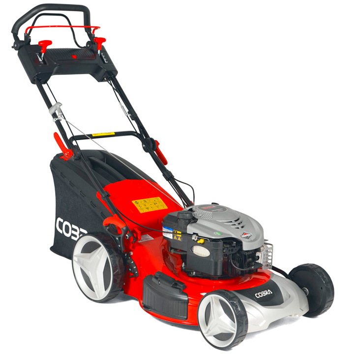 "Cobra 20"" Petrol Powered Premium Lawnmower B&S"