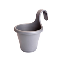 Corsica Easy Hanger Single Planters - Anthracite