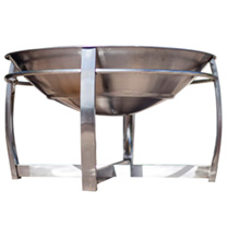 Tartarus Stainless Steel Firepit