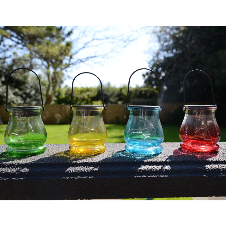 Glass Solar Lamps