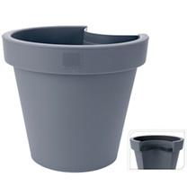 Drainpipe Flowerpot - Grey