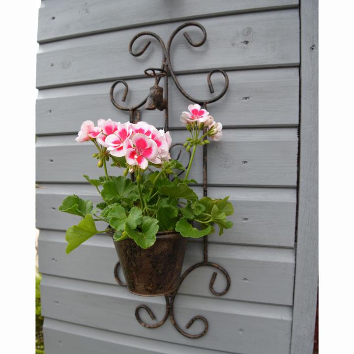 Decorative Wall Hanger + 1 Pot