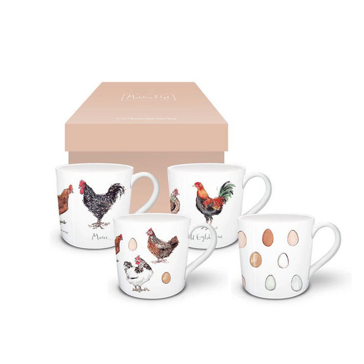Chicken & Egg Mugs
