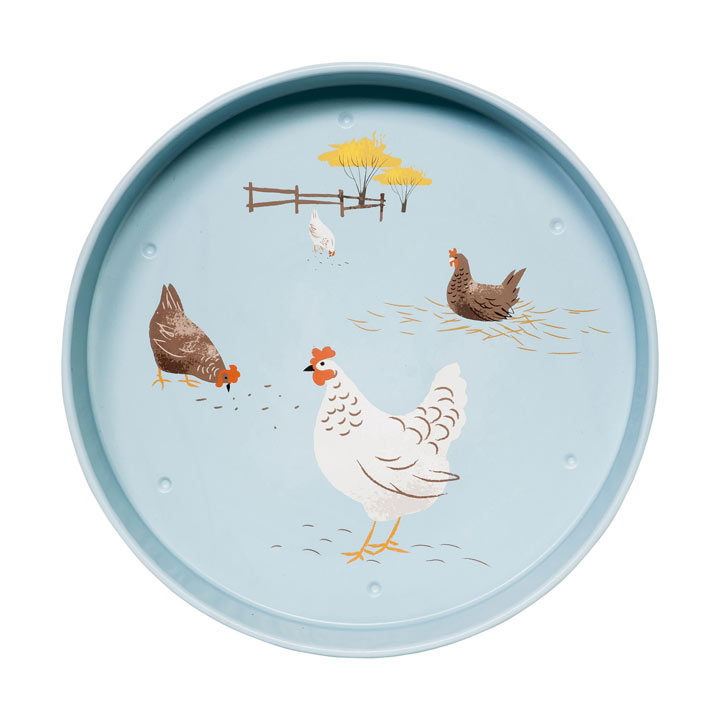 Hens Serving Tray