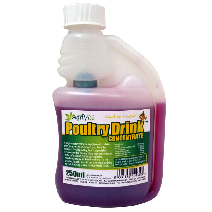 Agrivite Poultry Drink Concentrate - 250ml