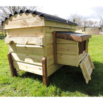 Brecon Multi Purpose Unit - Double Nest Boxes