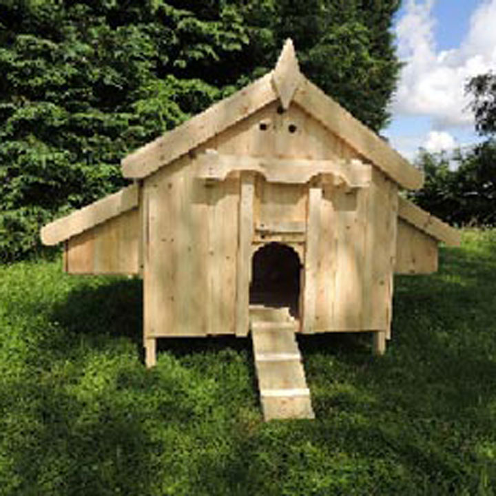 Chicken House cottage chicken house - 4 nest boxes - chicken coops - keeping