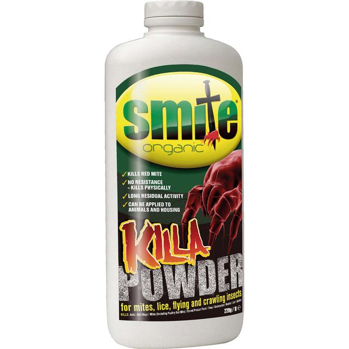 Smite Organic Killa Powder - 220g Puffer