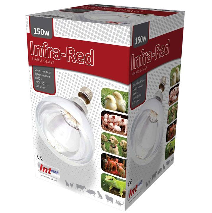 150 Watt Infra-Red Bulb - Clear