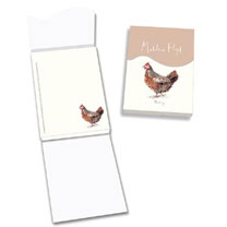 Chickens - Address Book, Concertina Wallet, Magnetic Memo Pad