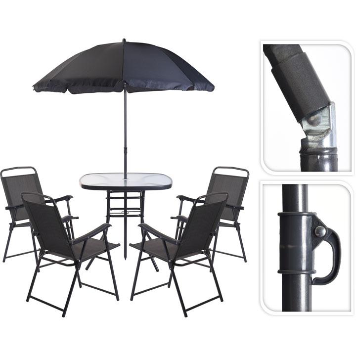 Patio Furniture Set - Grey