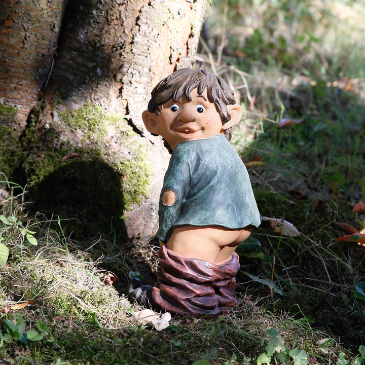 Trousers Down Gnome