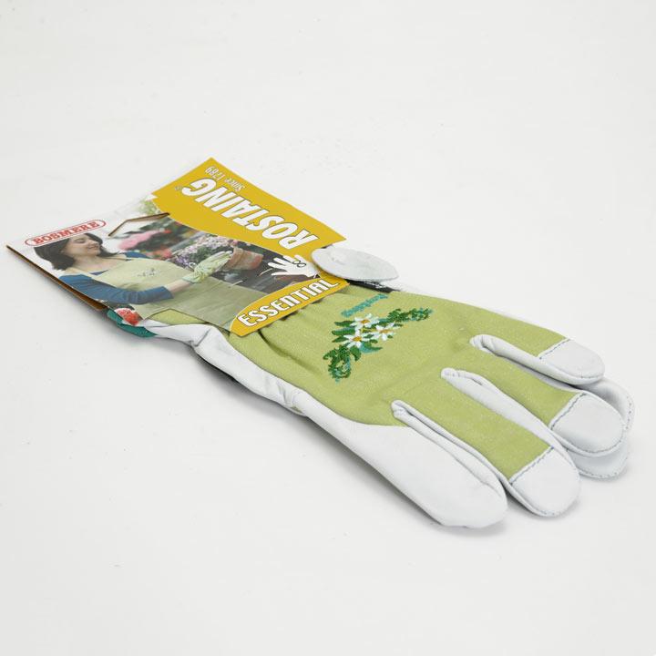 Gardening Gloves - Ladies Essential Embroidered Cotton