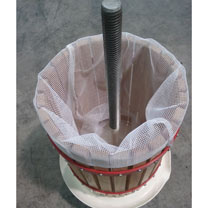 Fruit Press, Crank Handle, Pulp Bag