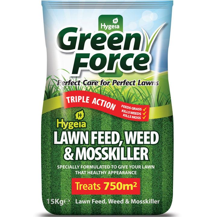 Greenforce Lawn Feed Weed & Moss Killer -15kg
