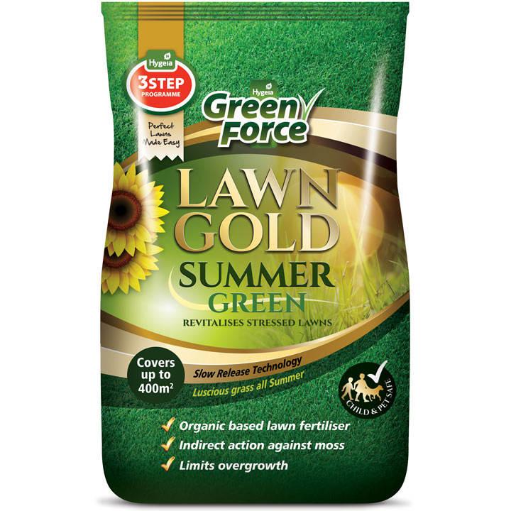 Greenforce Lawn Gold - Summer Green 15kg