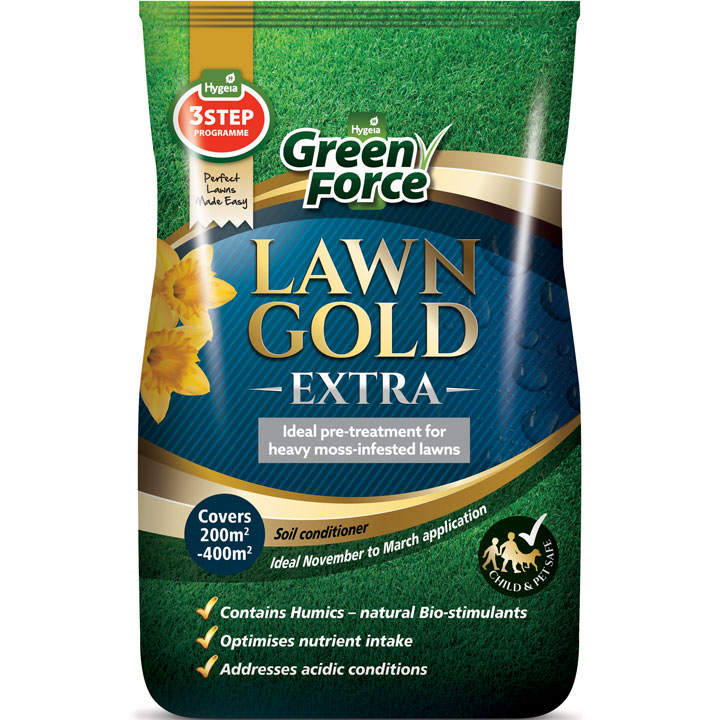 Greenforce Lawn Gold - Extra 20kg