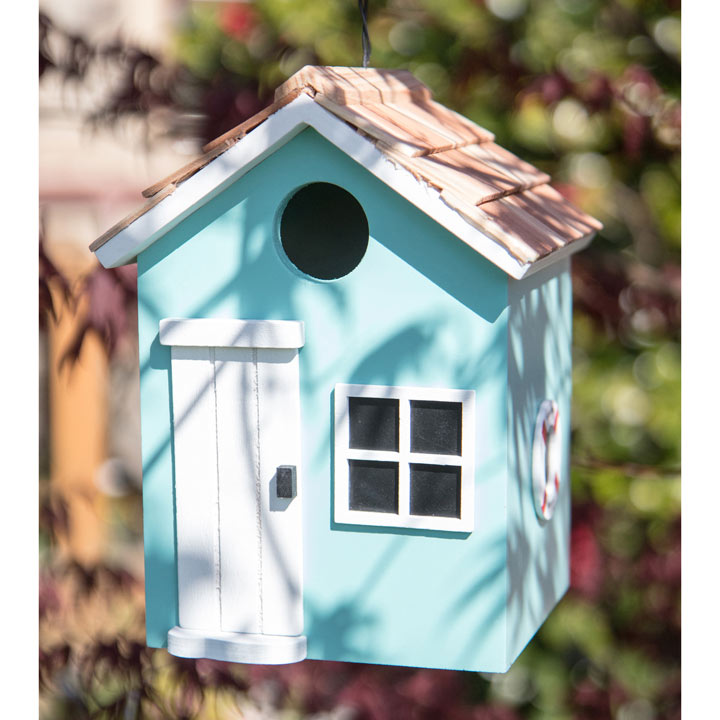 Birdhouse - Bayside Beach Hut Turquoise