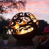 Fire Globe Dragon