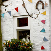 Multi-coloured Bunting Lights