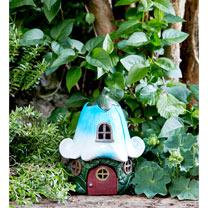 Solar Fairy House - Bluebell Cottage