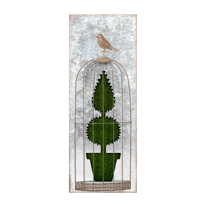 Flocked Wall Art - Shaped Fir